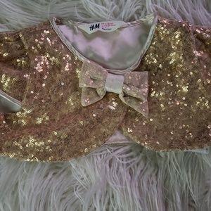 Girls Sequins Bolero Jacket